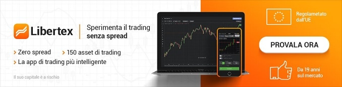Libertex, trading senza spread